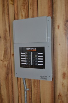The full home generator was recently installed and is hard wired to the home.  Easy access to the panel if you were to need it turned on. (photo 3)