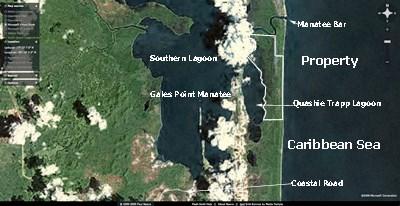 Between Caribbean Sea And Quashie Trapp Lagoon, Belize - BLZ (photo 3)