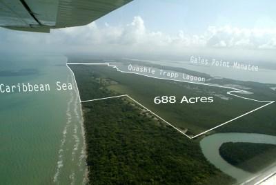 Between Caribbean Sea And Quashie Trapp Lagoon, Belize - BLZ (photo 4)