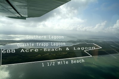 Between Caribbean Sea And Quashie Trapp Lagoon, Belize - BLZ (photo 5)