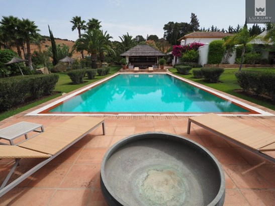 Equestrian Finca for sale near Sotogrande with land suitable for a private Polo field (photo 1)