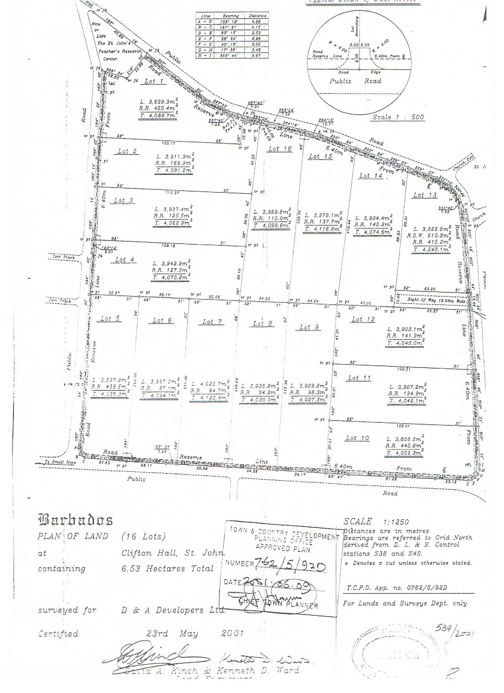 Clifton Hall Lot #16, St. John - BRB (photo 2)
