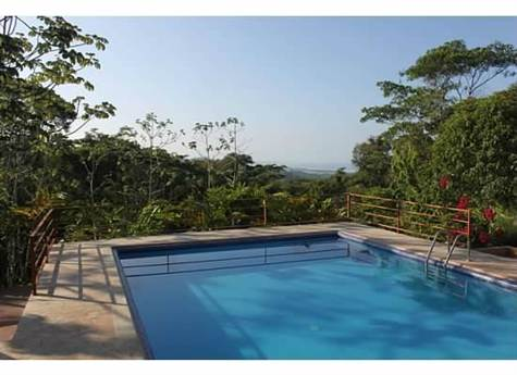 Tropical Dream Home With Huge Ocean Views, Cinco V, Uvita - CRI (photo 2)