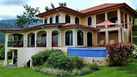 Stunning Ocean View Family Home, Ojochal, Uvita - CRI (photo 1)