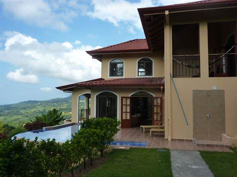 Stunning Ocean View Family Home, Ojochal, Uvita - CRI (photo 3)
