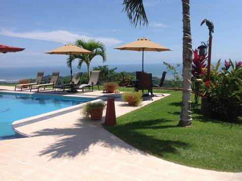 Luxurious Ocean View Mansion Or B&b, With Guest Ho, Uvita - CRI (photo 4)