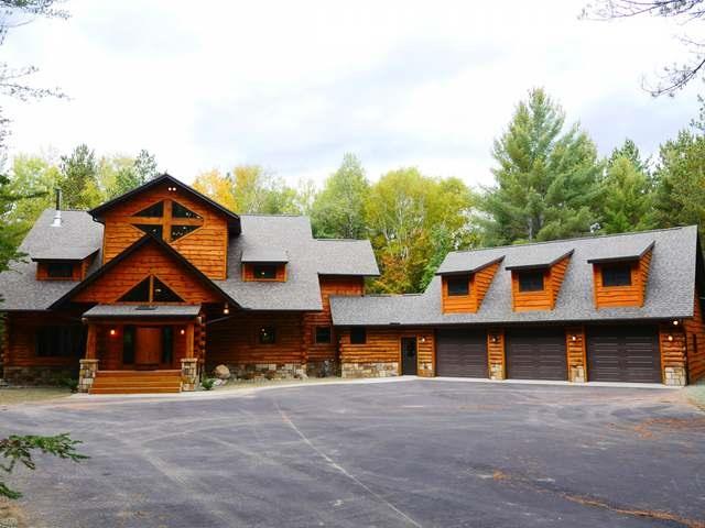 Contemporary,Log Home, 2 story - Eagle River, WI (photo 1)
