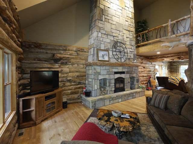 Contemporary,Log Home, 2 story - Eagle River, WI (photo 3)