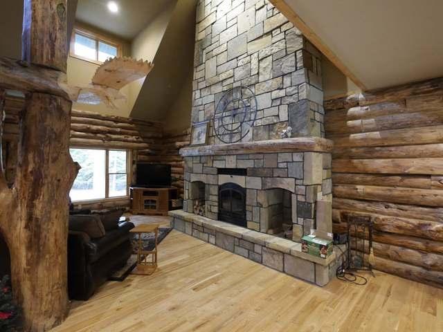 Contemporary,Log Home, 2 story - Eagle River, WI (photo 4)