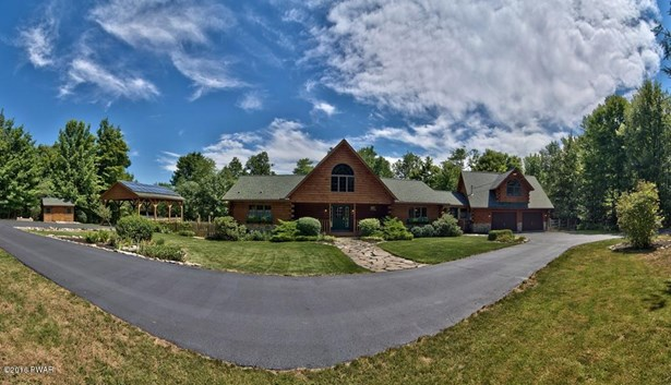 Contemporary,Log Home, Detached - Moscow, PA (photo 2)