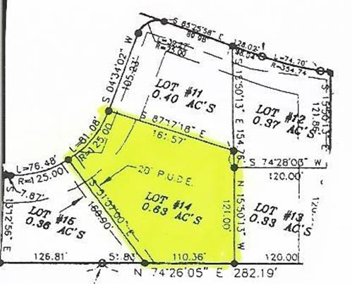 0 Cherokee Estates - Lot 14, Winchester, TN - USA (photo 1)