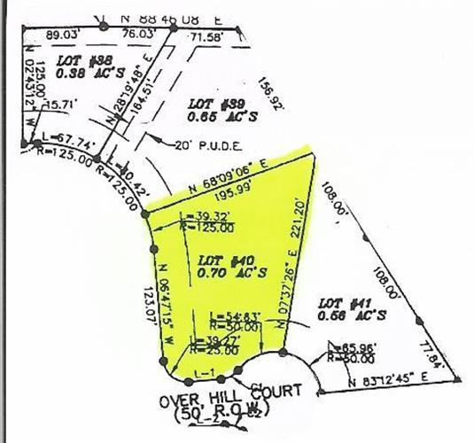 0 Cherokee Estates - Lot 40, Winchester, TN - USA (photo 1)