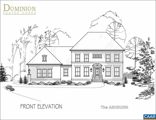 Proposed Detached, Georgian - CHARLOTTESVILLE, VA (photo 1)