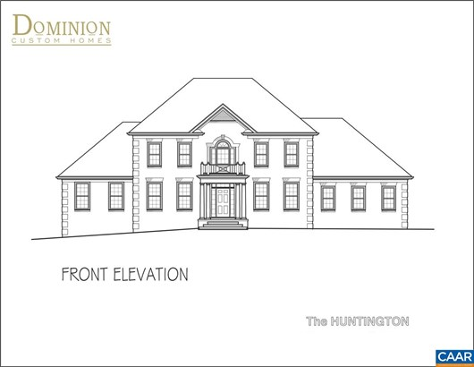 Proposed Detached, French Provincial - CHARLOTTESVILLE, VA (photo 5)