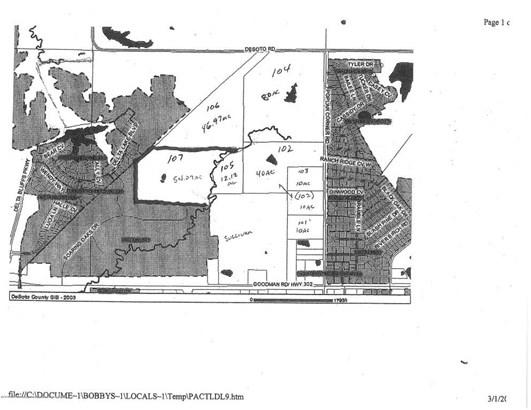 Lots and Land - Walls, MS (photo 2)