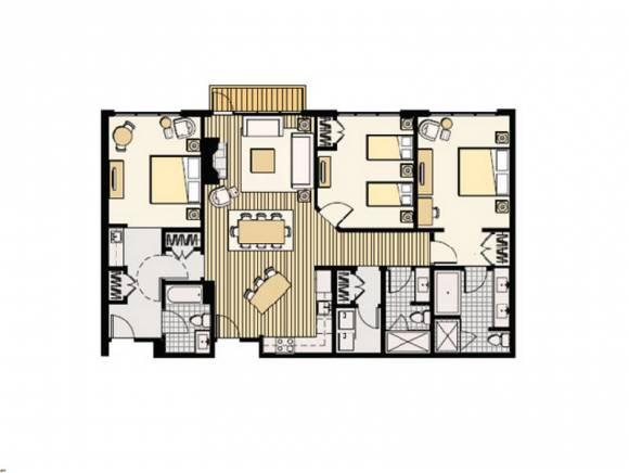 Contemporary,End Unit,Top Floor, Condo - Conway, NH (photo 5)