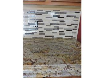 Granite and tile backsplash (photo 5)