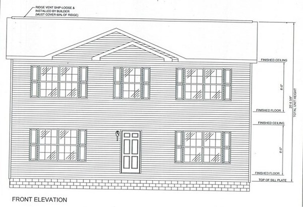 Proposed Detached, Colonial - MOUNT CRAWFORD, VA (photo 1)