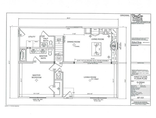 Proposed Detached, Colonial - MOUNT CRAWFORD, VA (photo 2)