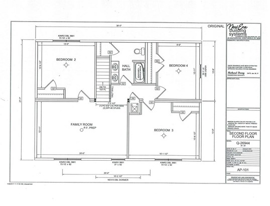 Proposed Detached, Colonial - MOUNT CRAWFORD, VA (photo 3)