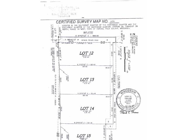 Lot 14 , 15 192nd Avenue, St. Croix Falls, WI - USA (photo 5)
