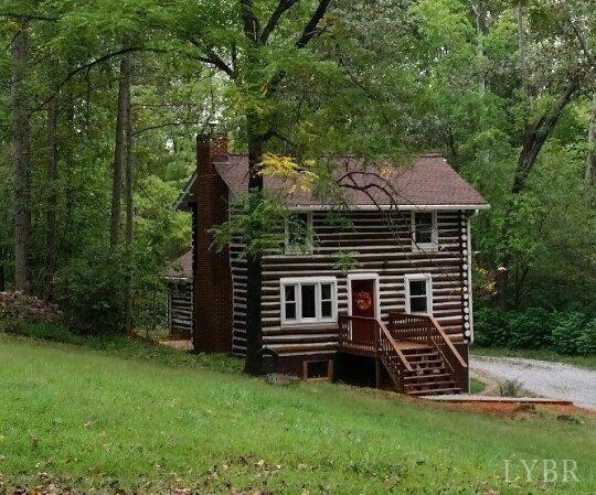 Single Family Residence, Log - Bedford, VA (photo 1)
