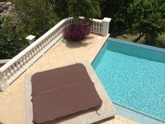 Large swimming pool plus hot  tub (photo 3)