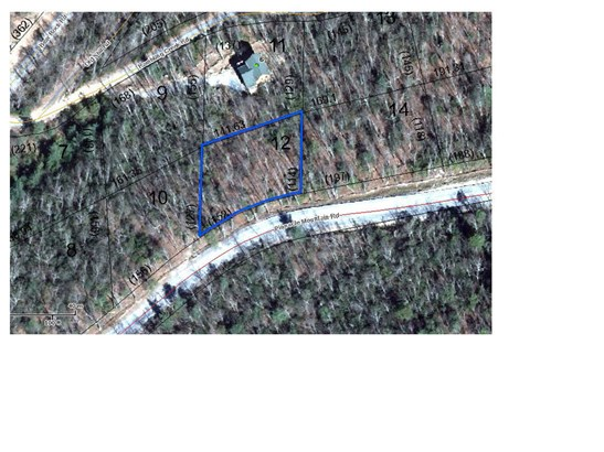Lot 12  Pinnacle Mountain Road, Zirconia, NC - USA (photo 5)