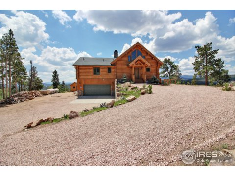 Residential-Detached, 1 1/2 Story - Red Feather Lakes, CO (photo 1)