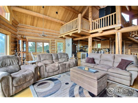 Residential-Detached, 1 1/2 Story - Red Feather Lakes, CO (photo 4)