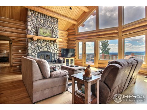 Residential-Detached, 1 1/2 Story - Red Feather Lakes, CO (photo 5)
