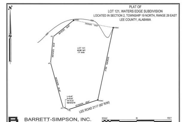 Lot 121 Lee Road 2117, Salem, AL - USA (photo 2)