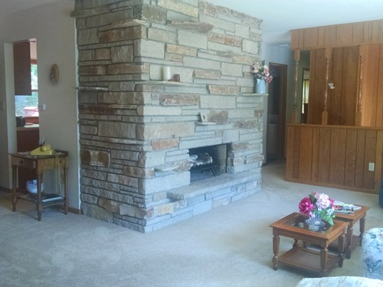 Wood Burning Fireplace (photo 4)