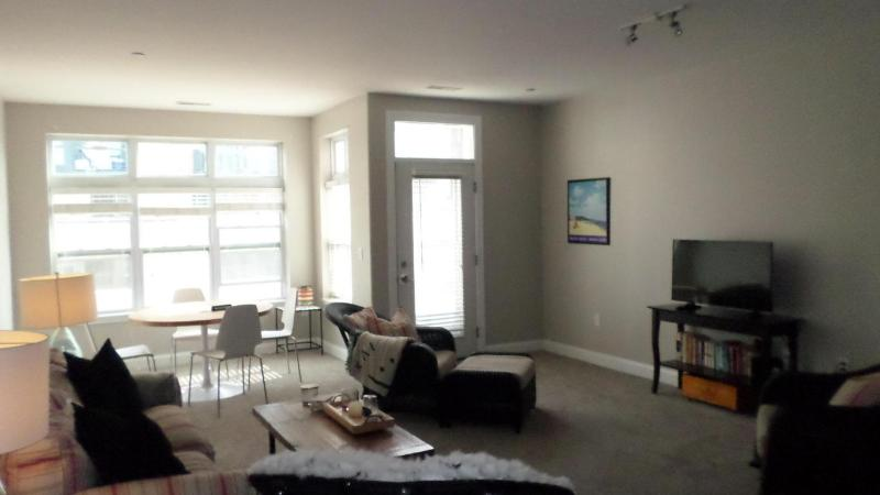 Living Room to deck (photo 2)