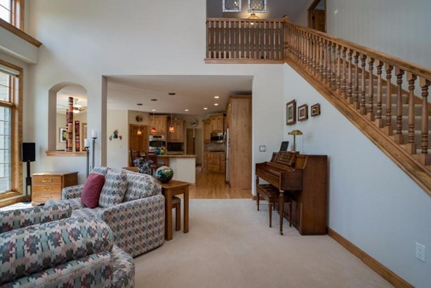 Great Room View to Kitchen & Staircase (photo 3)