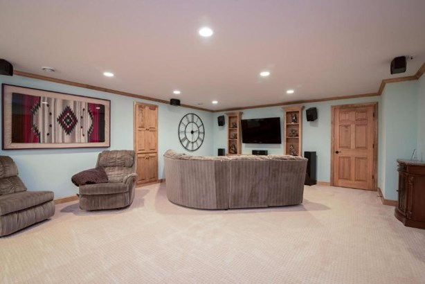 Finished Lower Level Rec Room (photo 5)