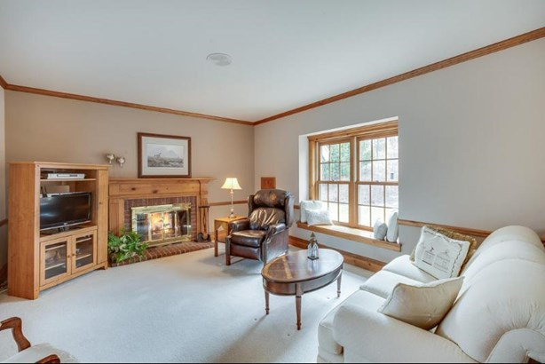 Family Room with Natural Fireplace (photo 2)