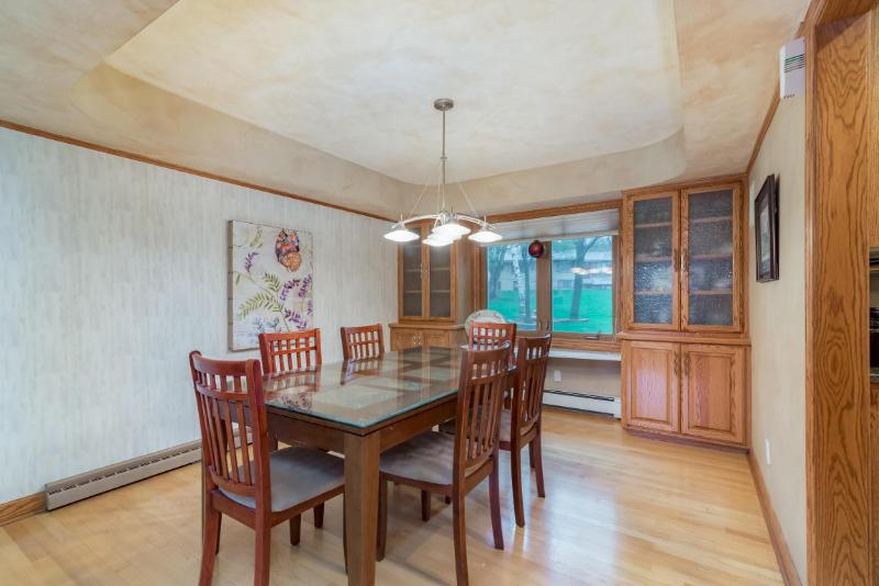 Dining Room with Built-In China Cabinets (photo 3)