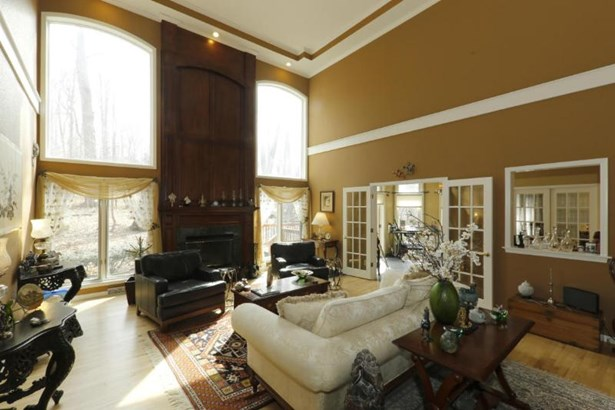 Great Room with French Doors to Sun Room (photo 2)