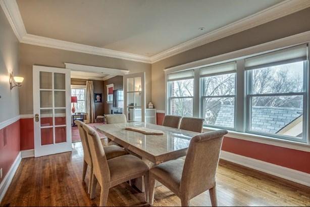 Dining room w/hardwood floors (photo 4)