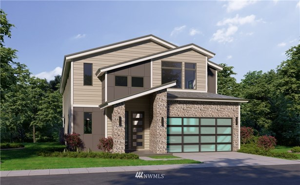 Plans and elevations are artist renderings only. May not accurately represent the actual condition of a home as constructed and may contain options, colors or features which are not standard.