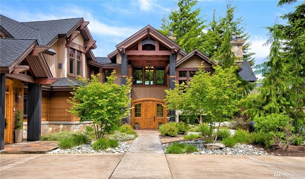 Welcome To The Exquisite Mountain Estate At 50 Scatter Creek In The Gated Community Of Tumble Creek.