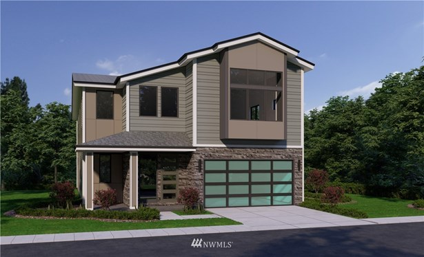 Plans & elevations are artist renderings only. May not accurately represent the actual condition of a home as constructed. May contain options, colors or features which are not standard.