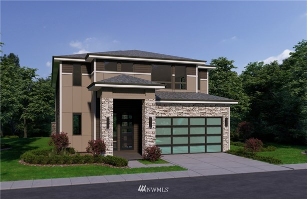 Elevation is artist rendering only and may not accurately represent the actual condition of a home as constructed. May contain options, colors or features which are not standard.