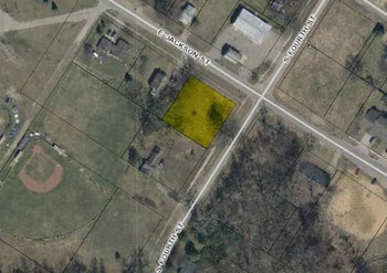Great 120'x120' residential building lot on a paved road.  Includes lots 1 & 2, block 54.  Utilities at the road and ready to connect. (photo 1)
