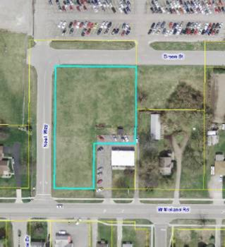 Fantastic building opportunity within the city of Auburn. This property is zoned as business and is a 1.06 acre lot. As a business zoned land, this plot has the potential for mixed use including, but not limited to: apartments, medical facility, food service, small business, and more. The land is adjacent to Bay City Western High School and has excellent visibility from the road. (photo 1)