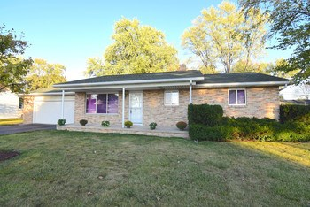 Well maintained brick ranch in Bangor Township.  This ranch boasts 3 bedrooms, 1.5 baths, 2.5 car garage and a full basement.  Newer energy efficient windows in this home. (photo 1)