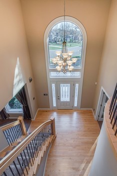 Dramatic reception with soaring ceiling in this stunning 2 story entry.  Open the door and you will want to stay! (photo 5)