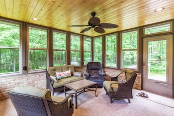 Warm summer nights couldn't be better in this terrific three season room. (photo 5)