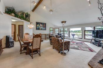 Open great room with scenic views of the water! (photo 5)